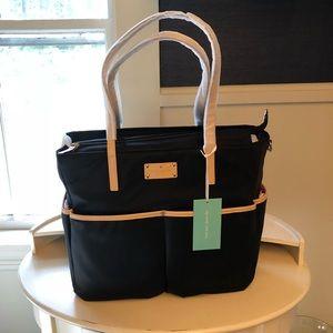 NWT Kate Spade Kennedy Park Black Honey Baby Bag